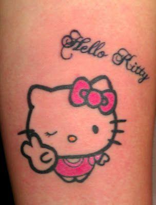 e6739232b GAL JAPAN STUDIO: Hello Kitty Tattoo!   Hello Kitty!   Hello kitty ...