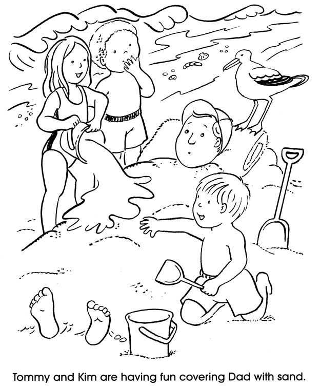 Welcome To Dover Publications At The Beach Desenhos Ideias Colorir