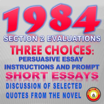 1984 essay thesis