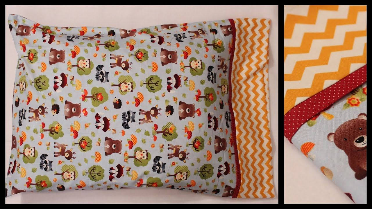 EASIEST Pillowcase Only Three Seams How to Whitney