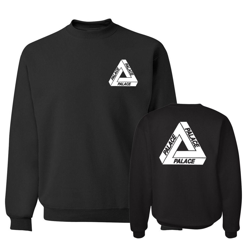 2017 autumn winter black fashion tracksuit brand hip hop hoodies ...