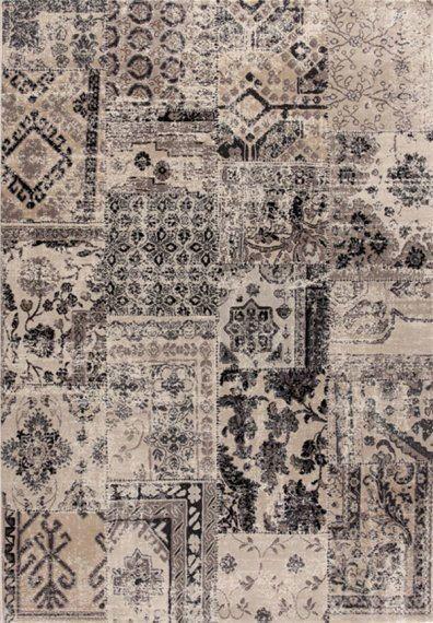 Alfombra patchwork laguna 6 alfombras modernas - Alfombras salon modernas ...