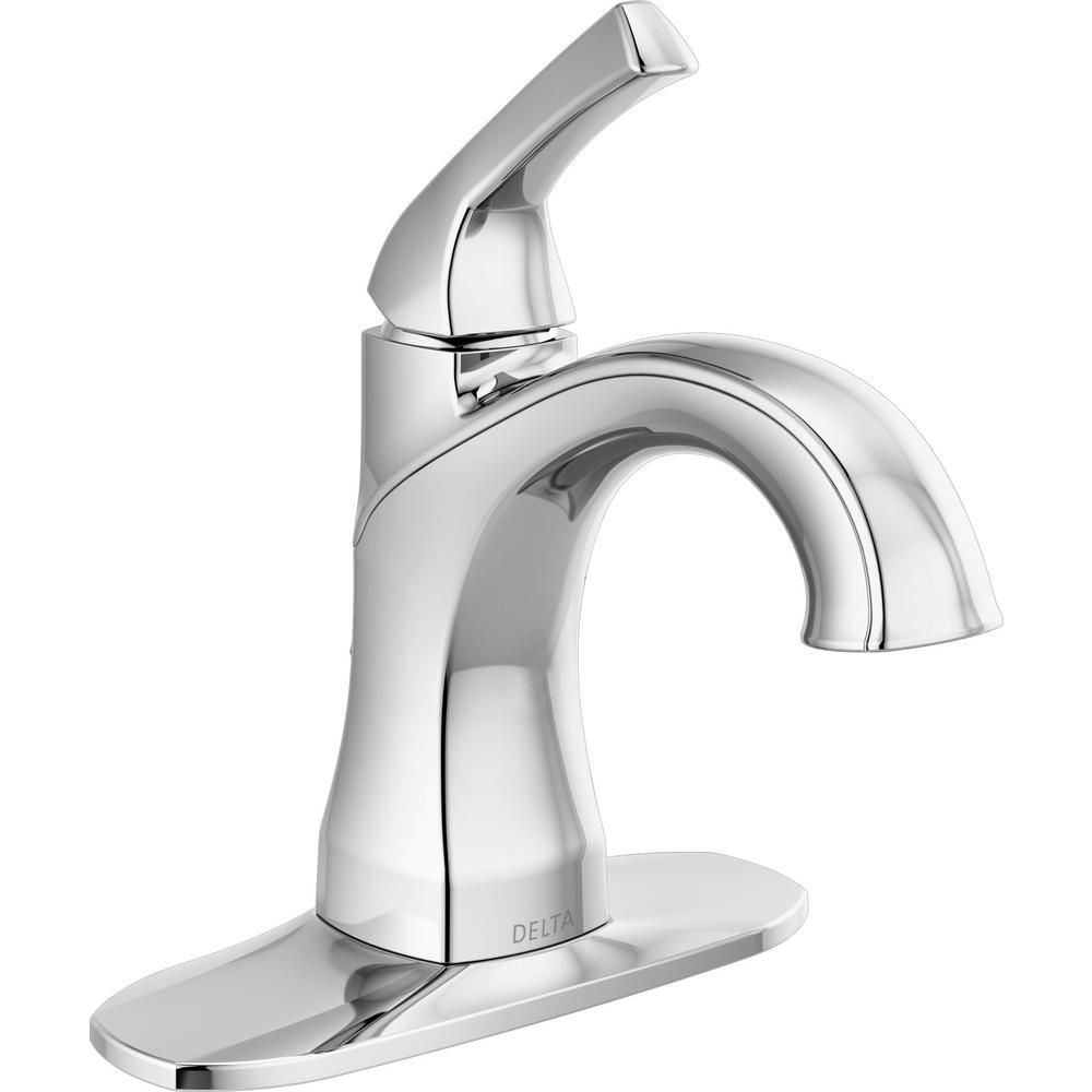 Delta Portwood 4 In Centerset Single Handle Bathroom Faucet In