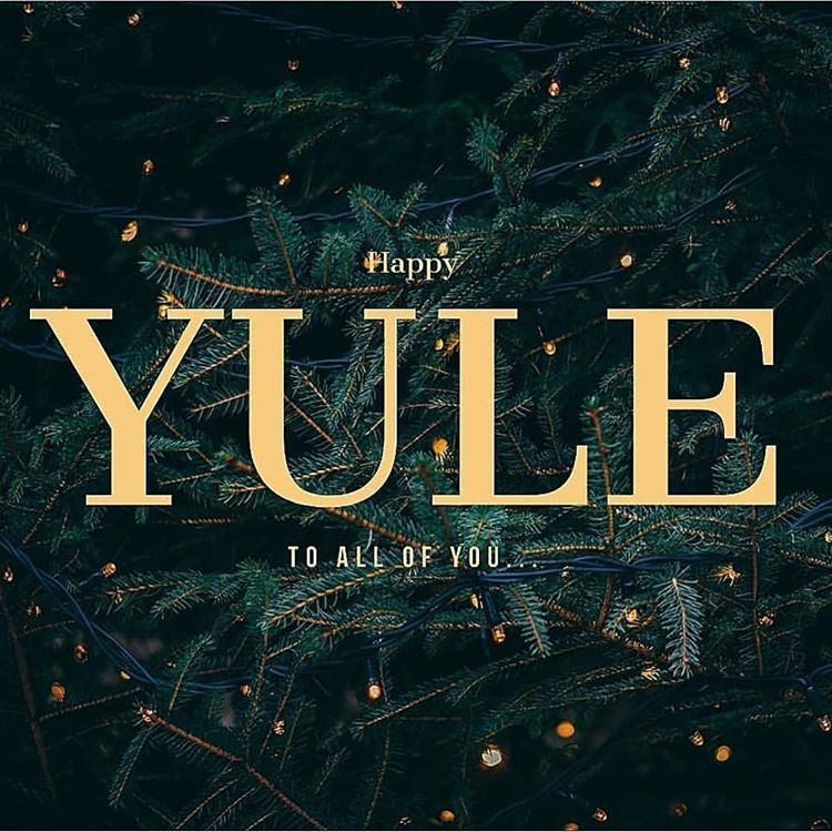 It's officially the first day of Yule! Heading into 201