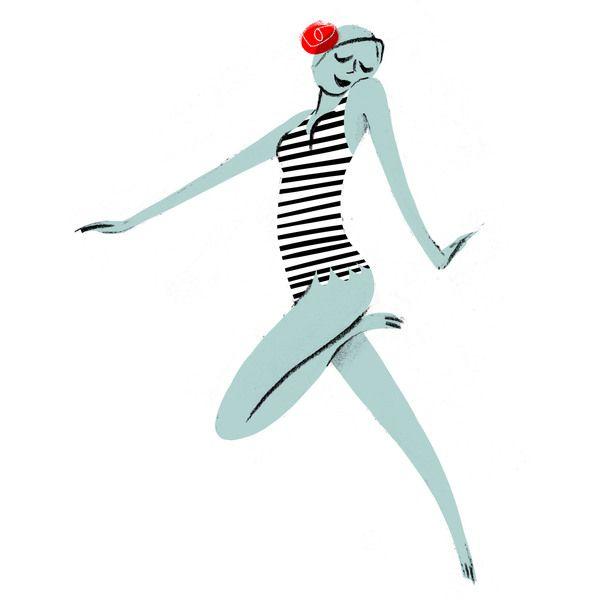 Synchro Swim Pattern by Simone Massoni