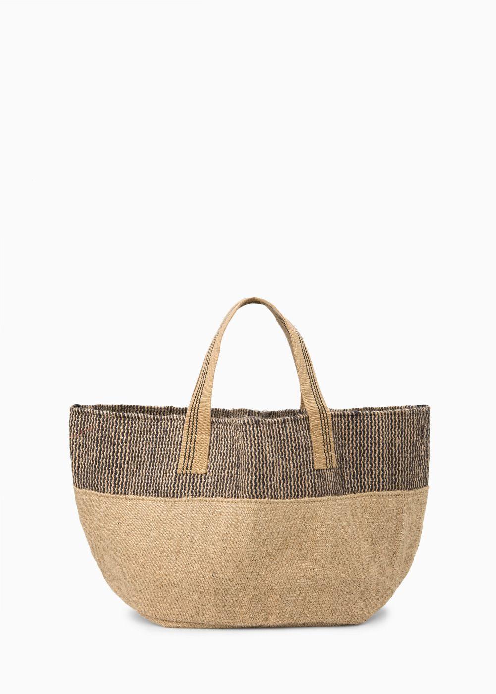 Jute bag - Women | Bag, Linen bag and Fabric bags