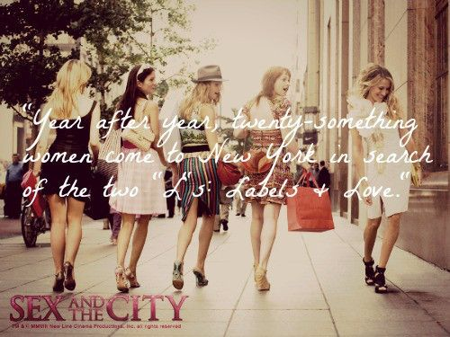 The 2 Ls Dirtroaddiva Satc Quote Carrie Bradshaw