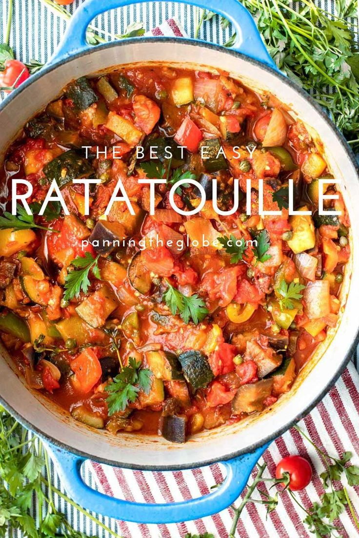The Best Easy Ratatouille Recipe