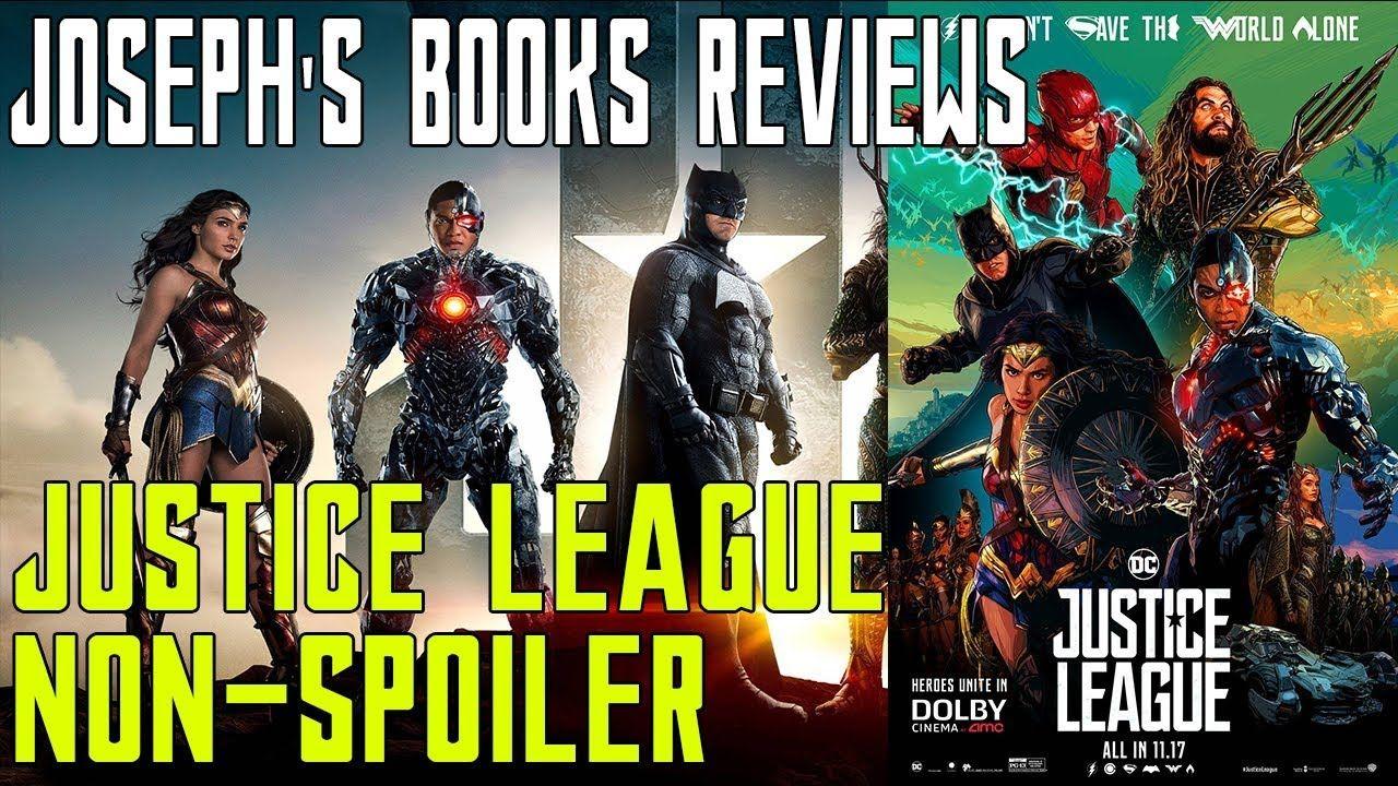 Justice league movie review nonspoiler josephs books