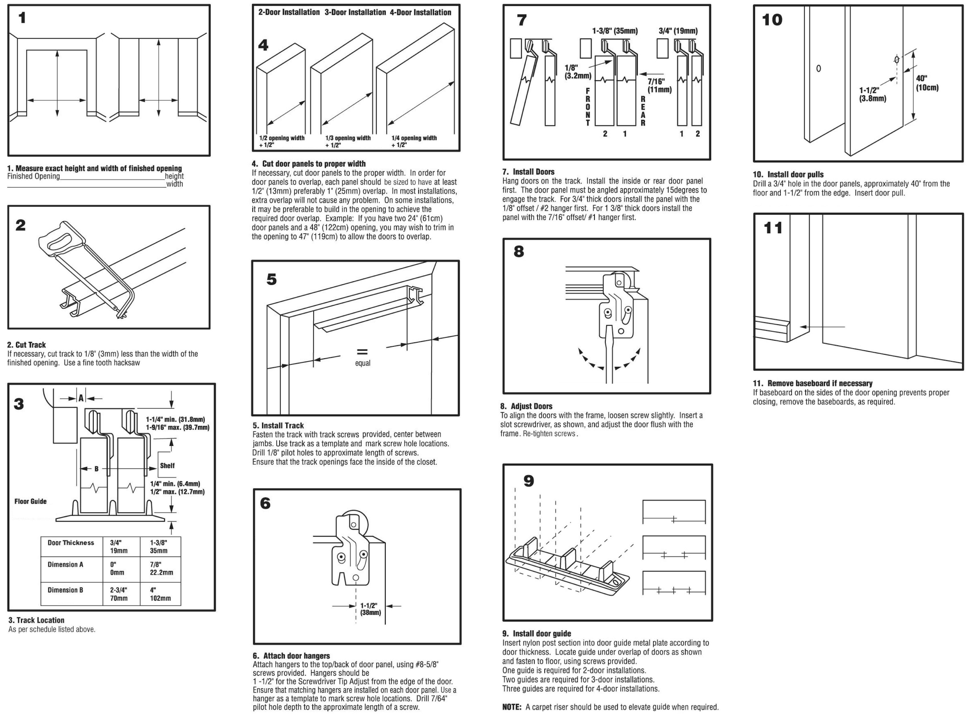Sliding Closet Door Hardware Kit Sliding Closet Doors Folding Closet Doors Closet Door Hardware