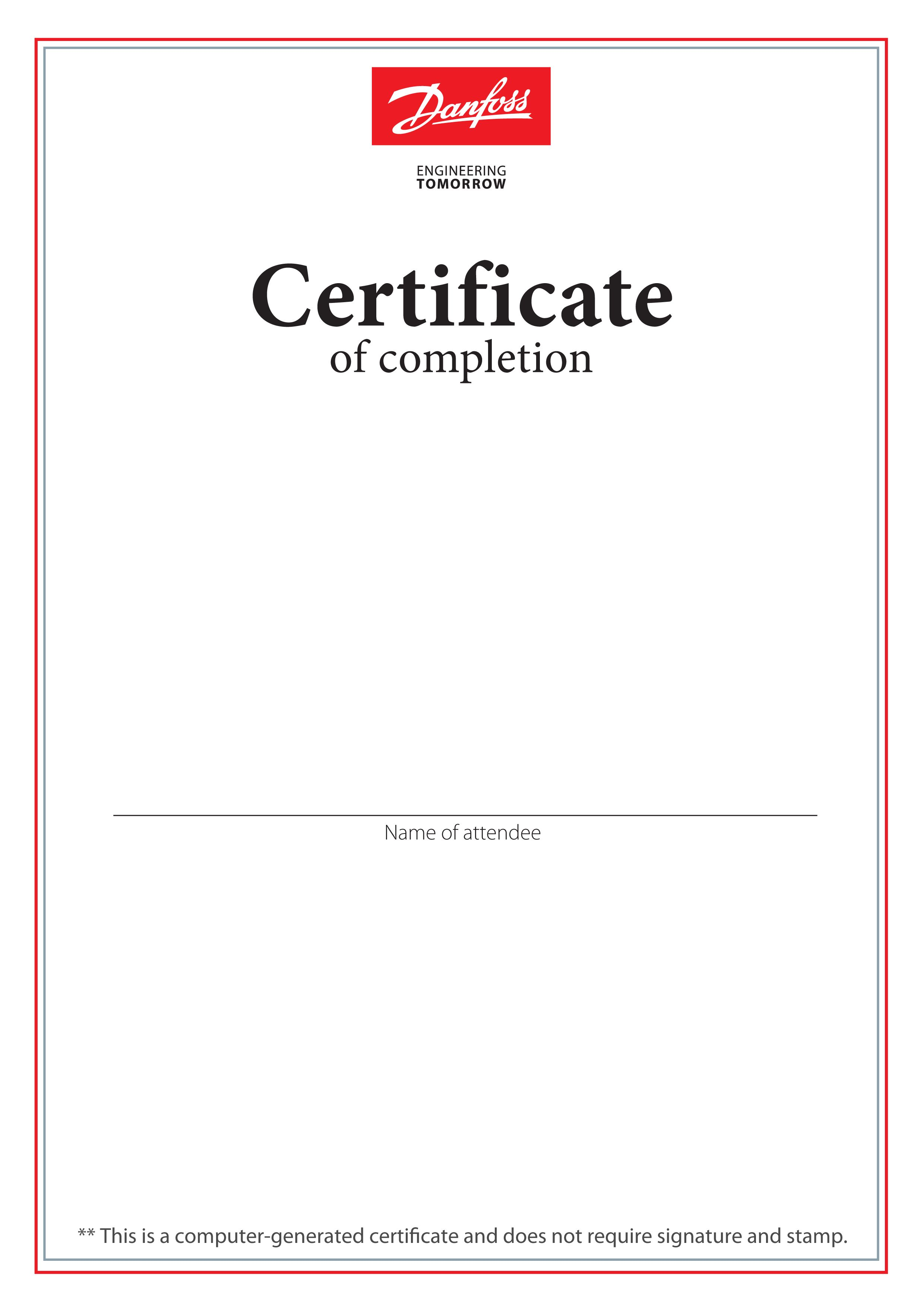 Certificate Certificate of completion, Certificate, Names