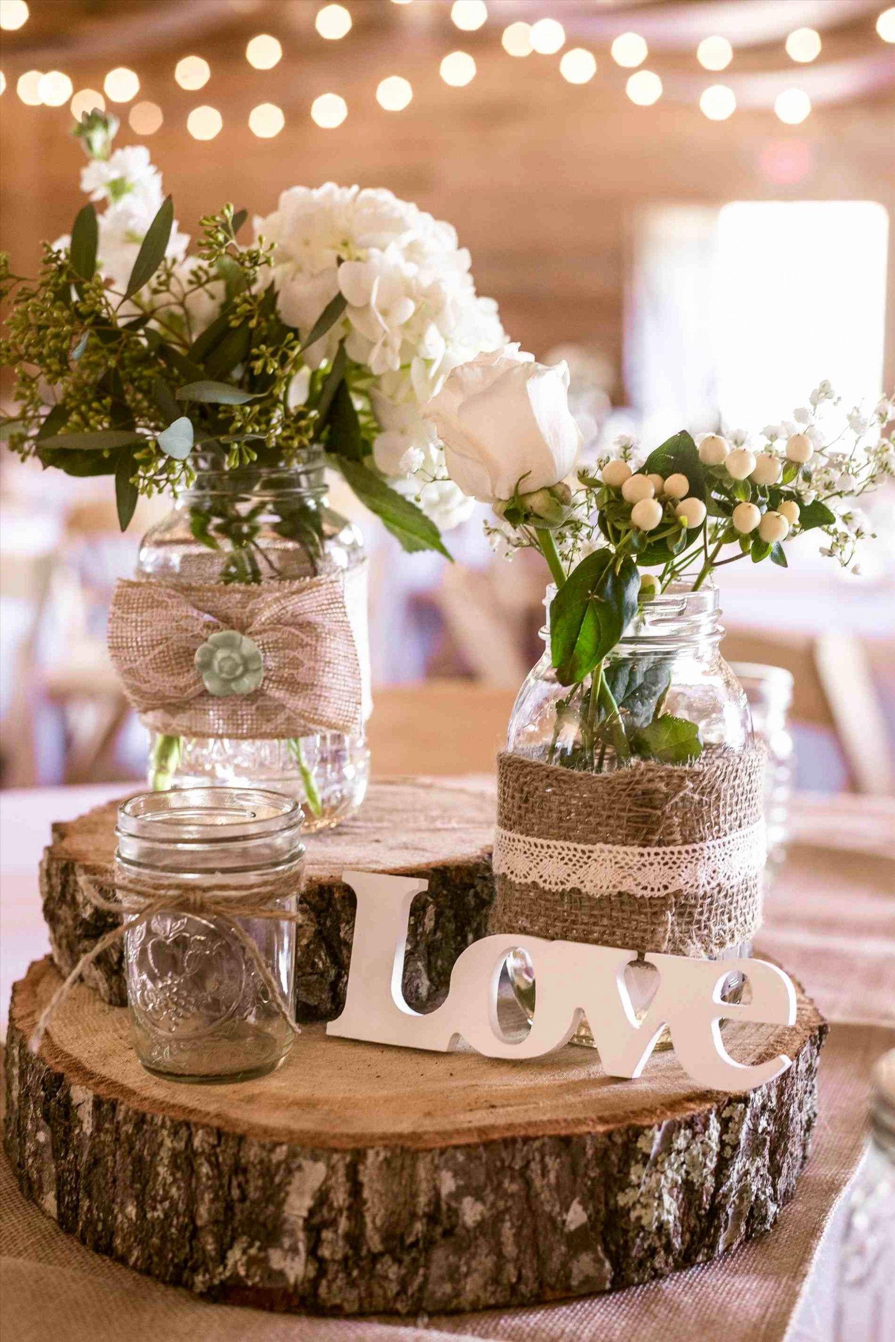 Simple Rustic Wedding Ideas Shabby Chic | Wedding centerpieces, Wedding  decorations, Rustic barn wedding