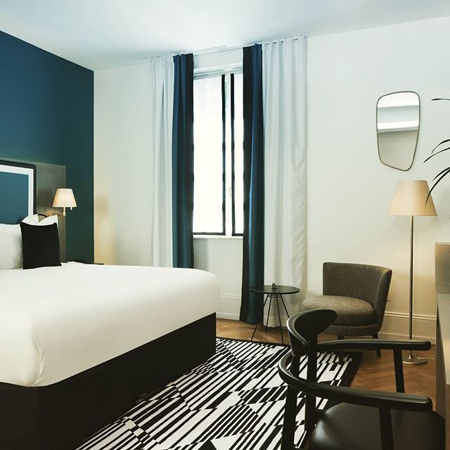 chambre deluxe inspiration sarah lavoine peinture. Black Bedroom Furniture Sets. Home Design Ideas