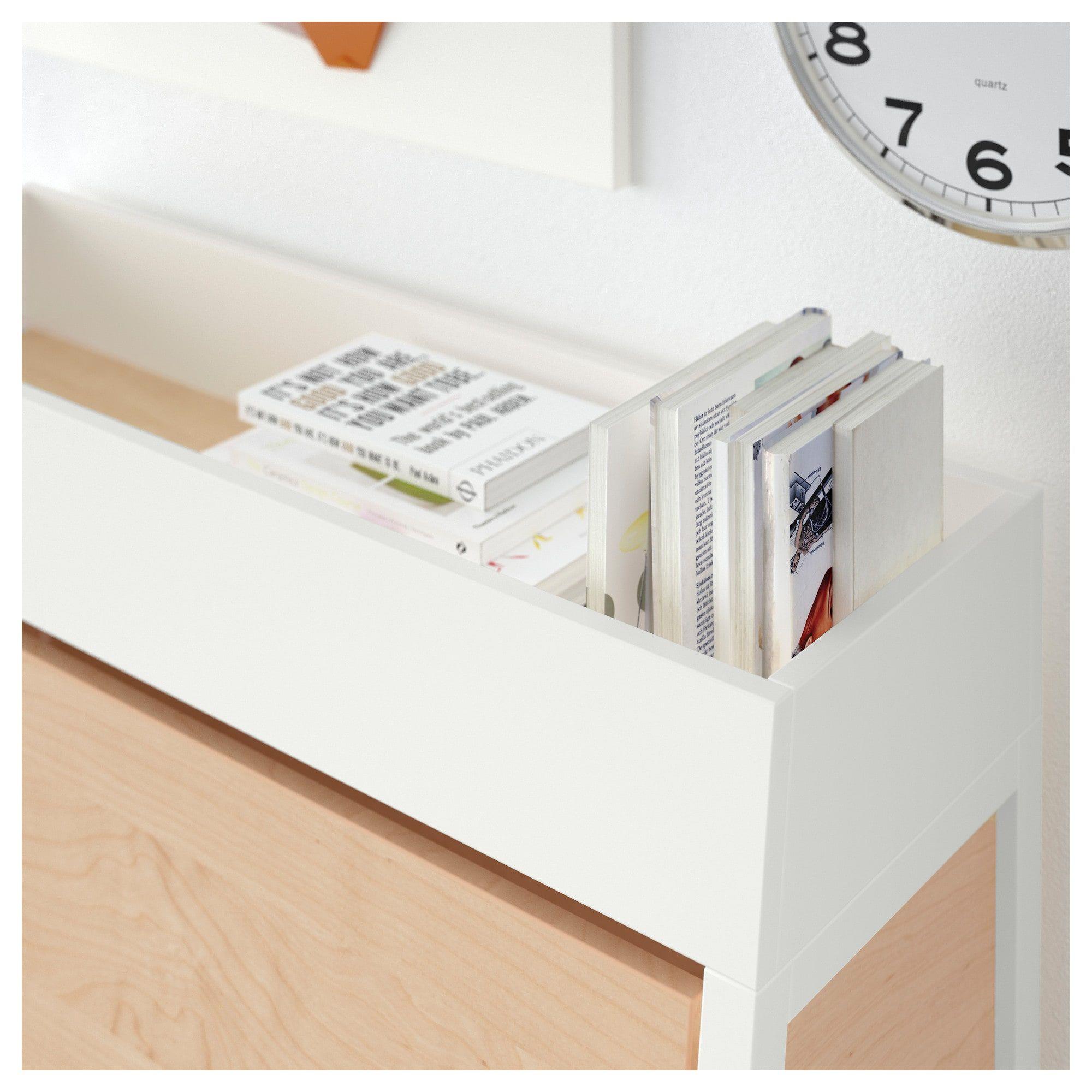 IKEA PS 2014 Sekretär in weiß; aus Birkenfurnier; 90x127cm