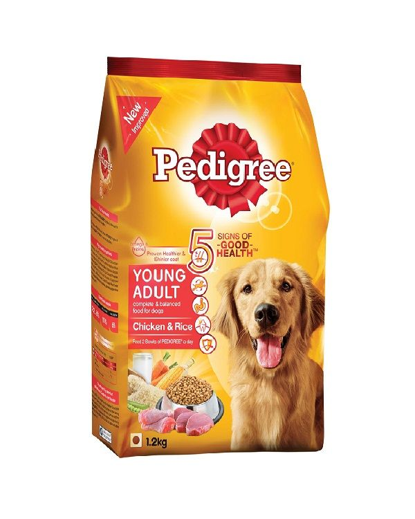 Pedigree Adult Dog Food Chicken And Rice 1 2kg Pedigree Dog