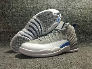 Nike Air Jordan 12 XII Retro Wolf Grey 130690 007 Mens basketball sport shoes