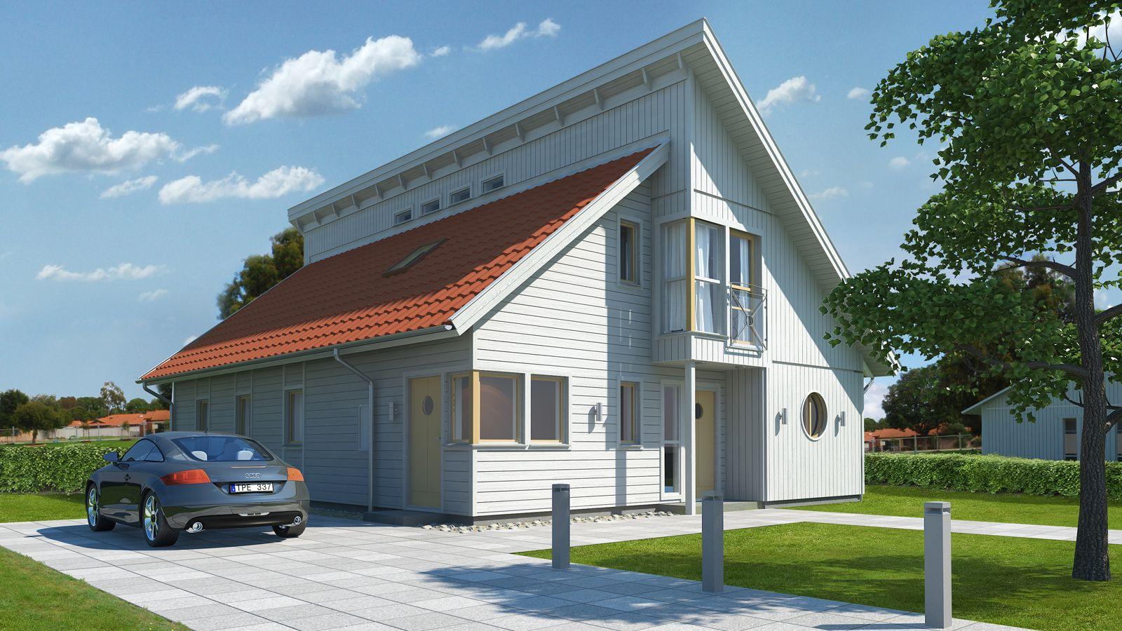Salto | Self Build Kit Home from Sweden | scandinavian home | Pinterest