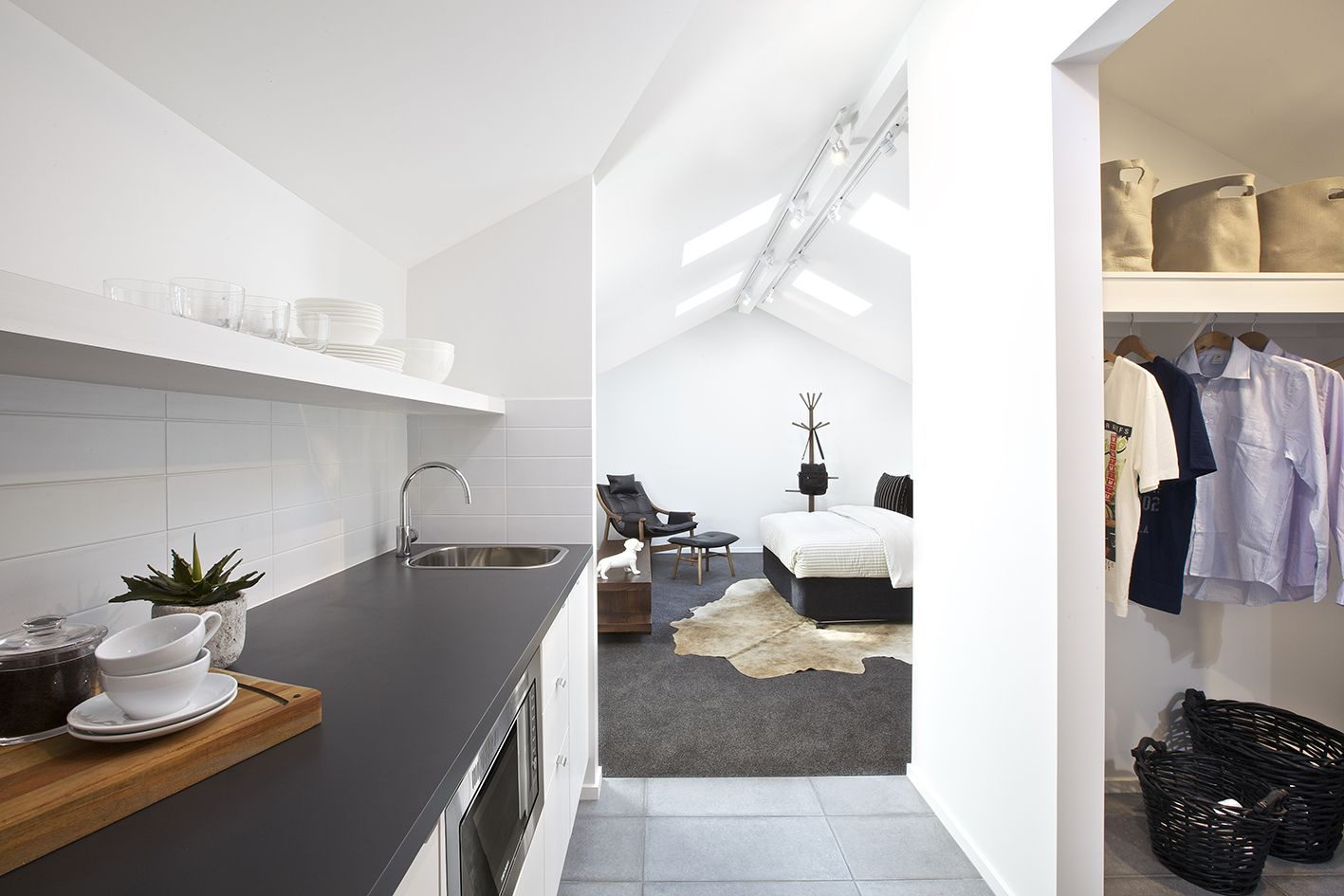 Clarendon Homes\' Cisco 37 - Living options extended into loft space ...