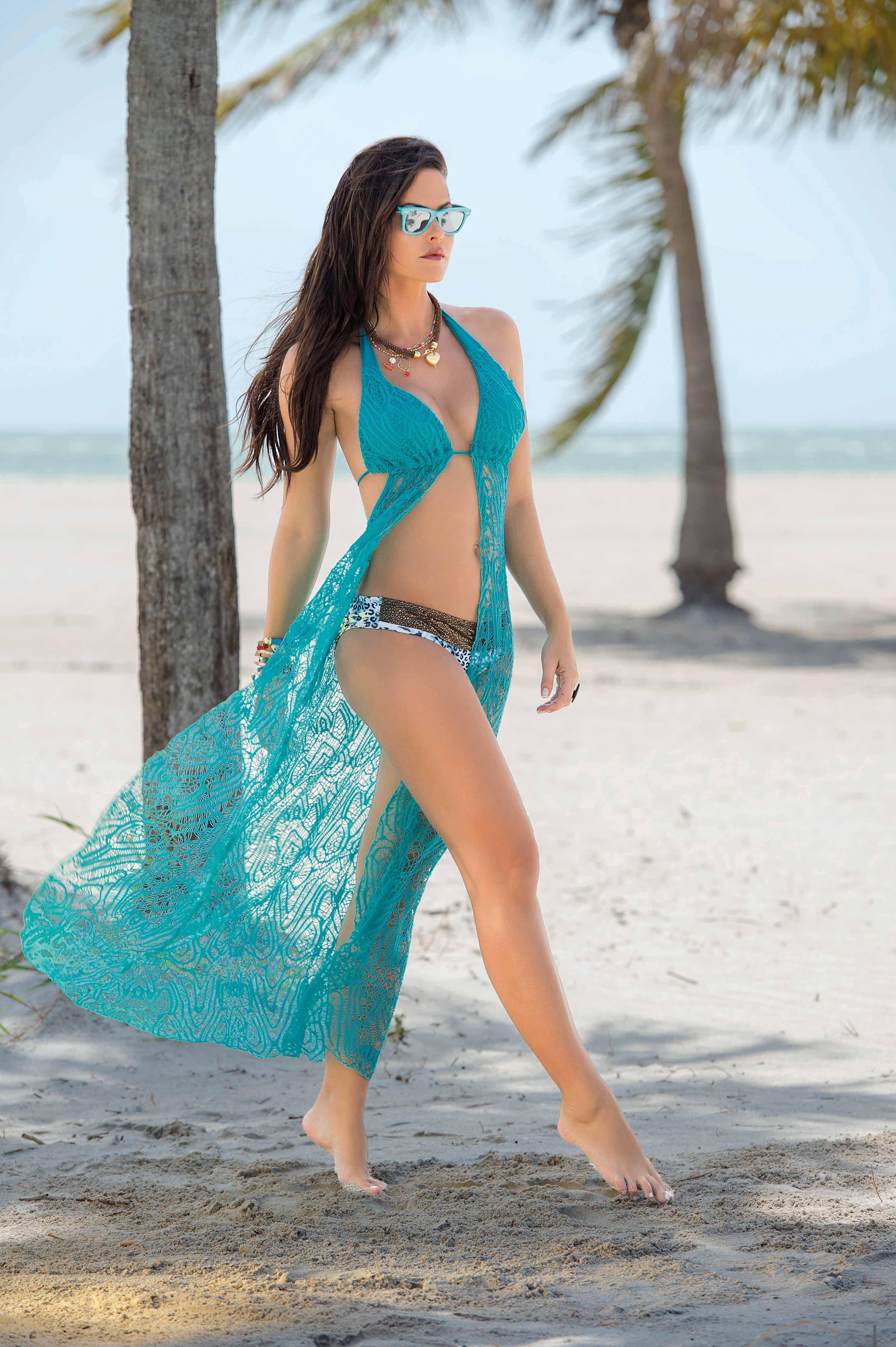 4ddcfd0b2021 Garotas - Vestido Largo Ref 735 #Playa #Beach #Beachwear #Fashion ...