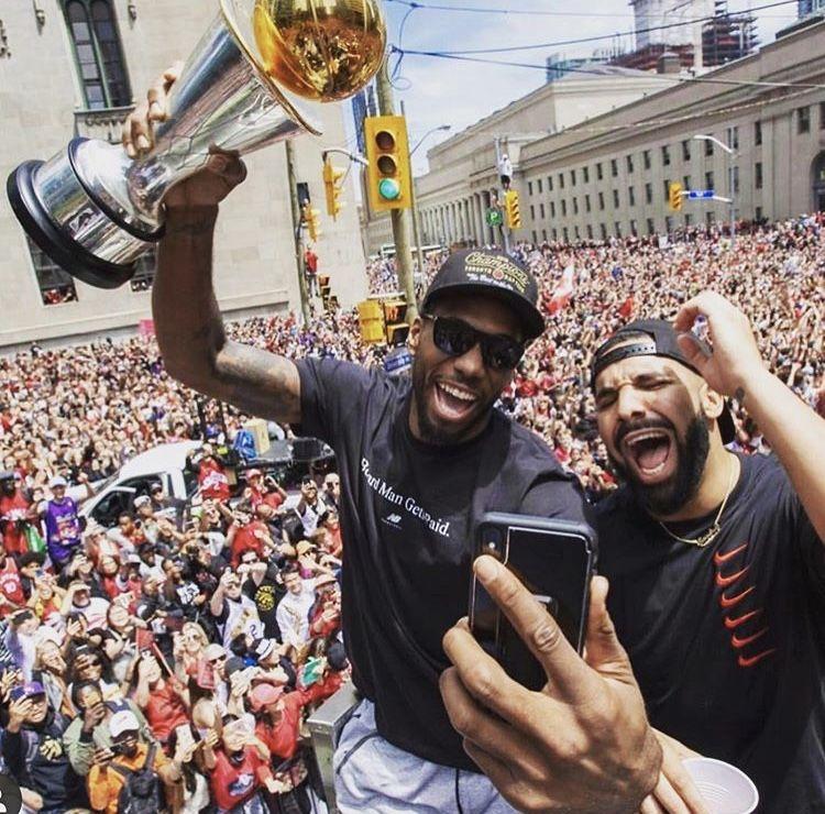 Kawhi and Drake Superfan, Toronto, Raptors