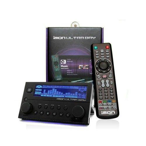 SOUNDGRAPH iMON UltraBay IR Receiver pad Remote control LCD display HTPC - Black