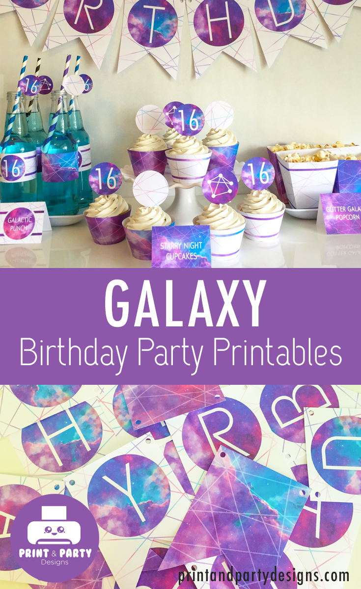 Pin On Galaxy Themed Birthday Party Ideas