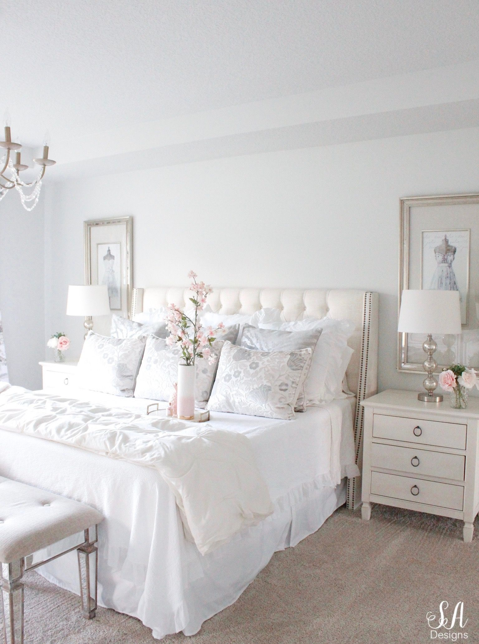 Master Bedroom Summer Refresh  Summer Adams
