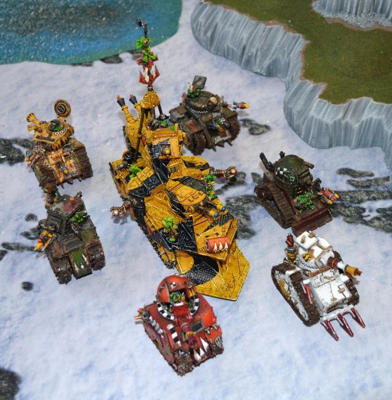 Bad Moons, Forge World, Grot Mega Tank, Grot Tanks, Orks