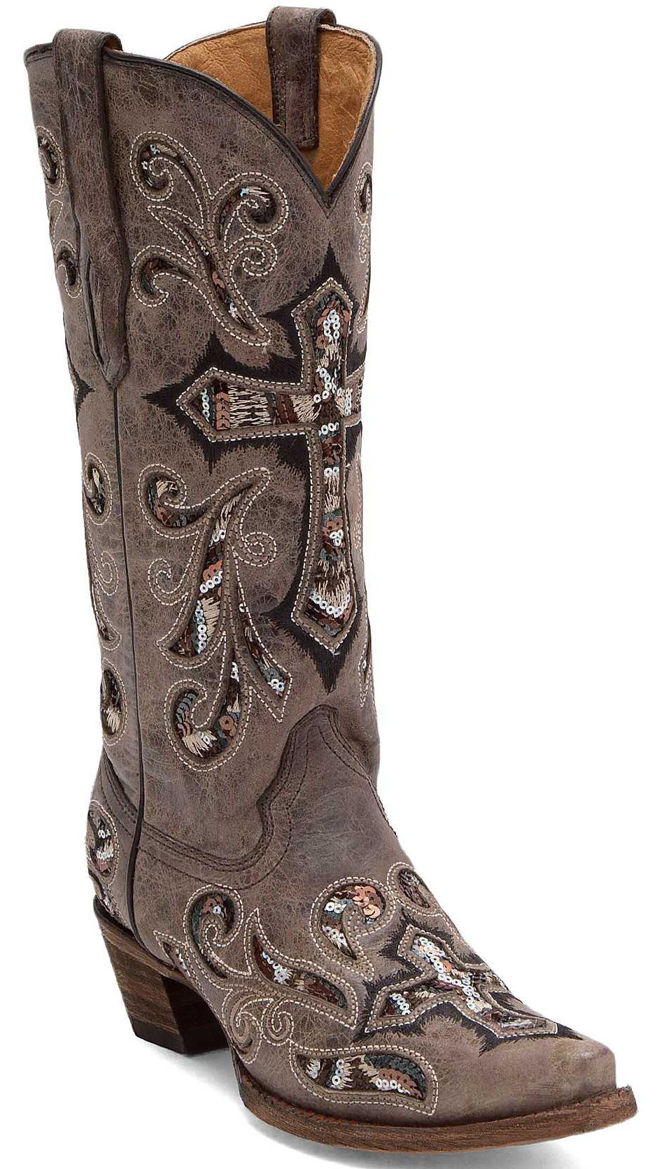 Corral Scarlett Cowboy Boot  Womens BootsShoes  Buckle  Dress Me Up  Boots Cowboy boots