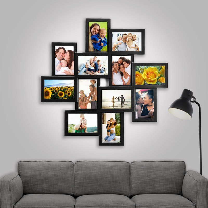 Eileen 12 Piece Storm Eye Selfie Gallery Collage Picture Frame Set Frames On Wall Picture Frame Wall Frame Wall Collage