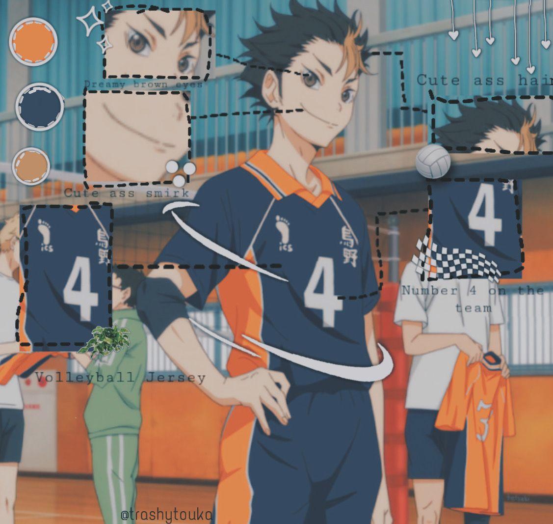 Nishinoya Anatomy Baby Anime Haikyuu Character Yu Nishinoya Time Took 20 Mins In 2020 Nishinoya Haikyuu Anime Haikyuu Nishinoya