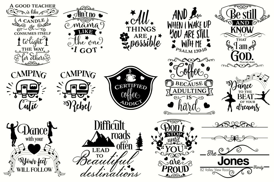 Get The Big Svg Cut Files Bundle – Limited Promotion! SVG