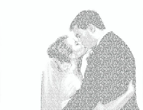 Word Art 3 I Chose This Image Because Its An Actual Text That Forms