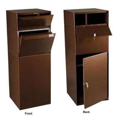 Locking Mailboxes Curbside Mail And Package Delivery Vault In Copper Vein Paketkasten Briefkasten Briefkasten Kaufen