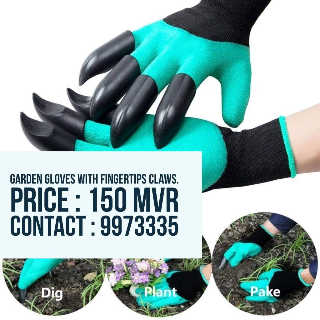Garden Gloves Available For Sale Now Contact 9973335