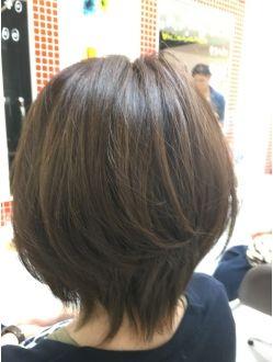 ショートボブ ヘアスタイル 髪型 ヘアカット