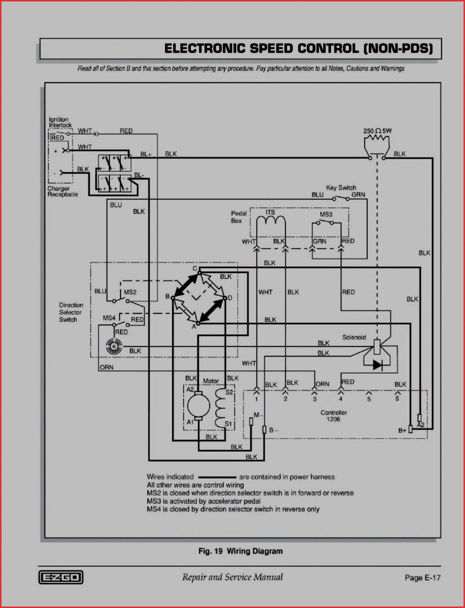 Ez Go Freedom Wiring Diagram