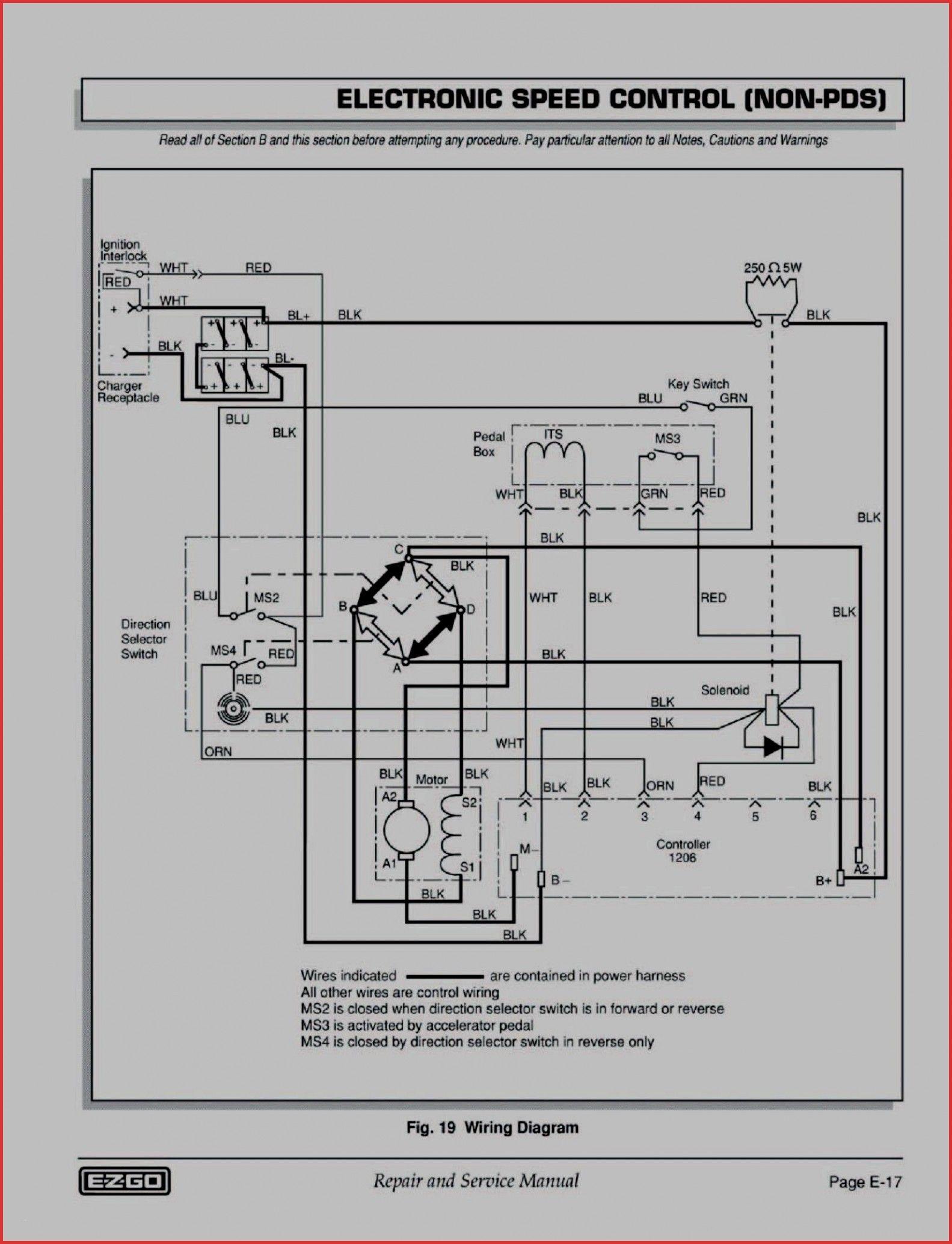 New Ezgo Txt Headlight Wiring Diagram Diagram