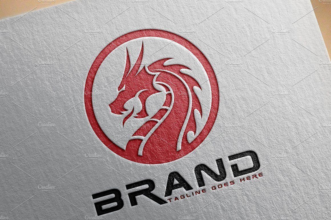 Dragon Logo V.2 by herulogo on creativemarket Logos
