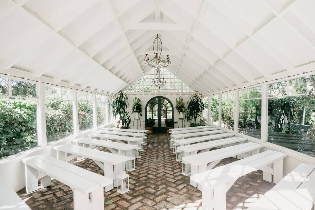 Country Garden Weddings at Greenhouse & Gardens Houses