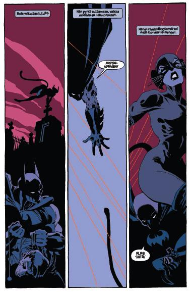 Batman: Synkkä voitto. #sarjakuva #sarjis #egmont #kissanainen