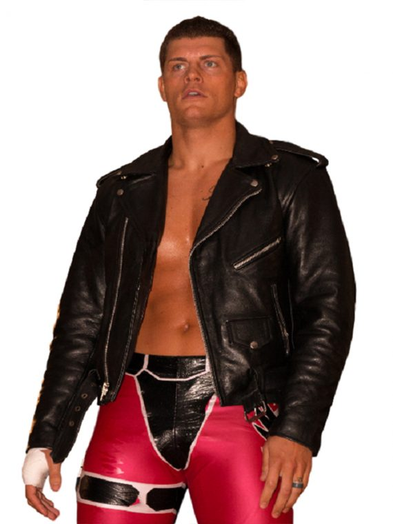 Cody Rhodes WWE Leather Jacket (With images) Leather