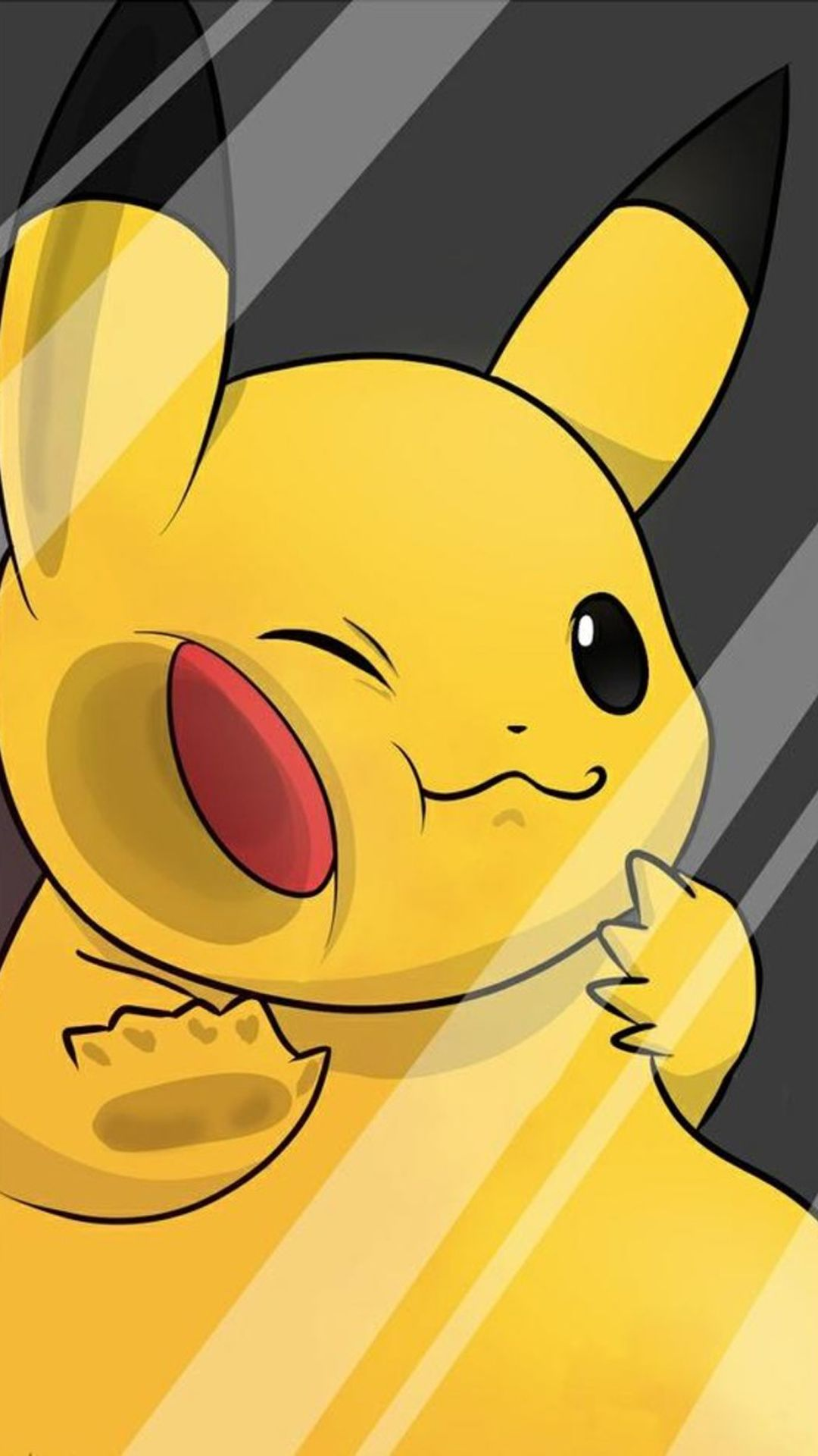 Pikachu Hd Wallpapers For Iphone 7 Wallpapers Pictures Seni Jalanan 3d Lock Screen Anime Seni
