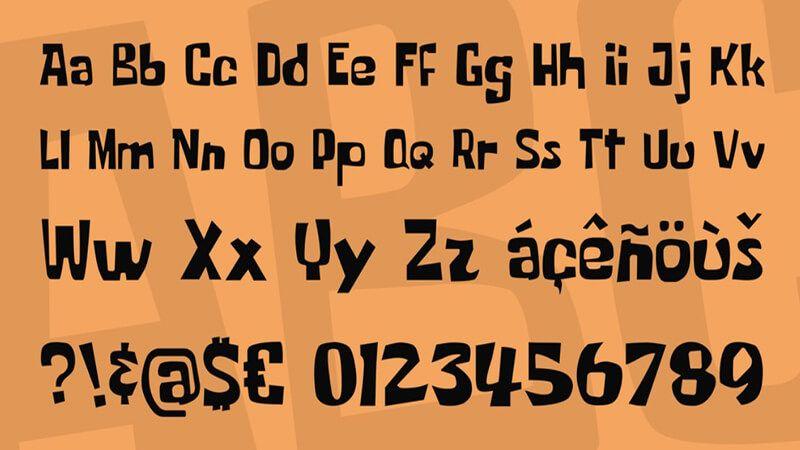 Spongebob Font Download (With images) Spongebob