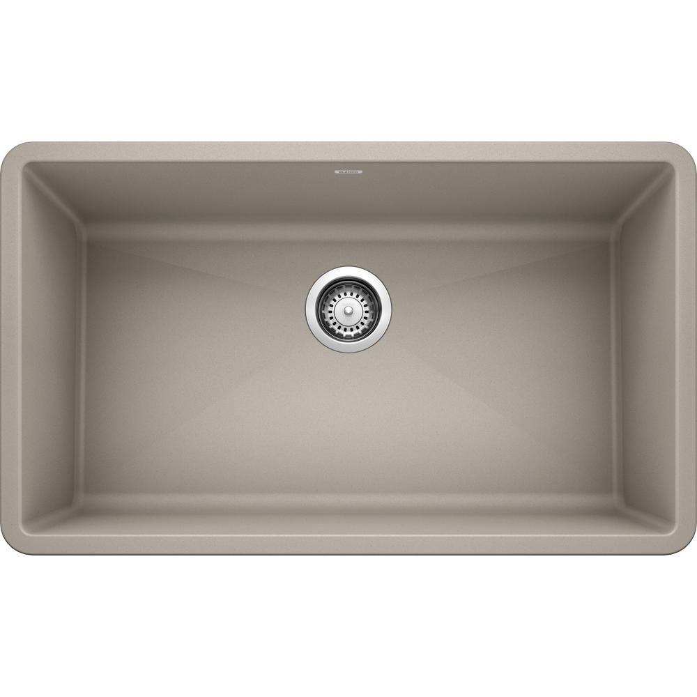 Blanco Precis Undermount Granite Composite 32 In Single Bowl