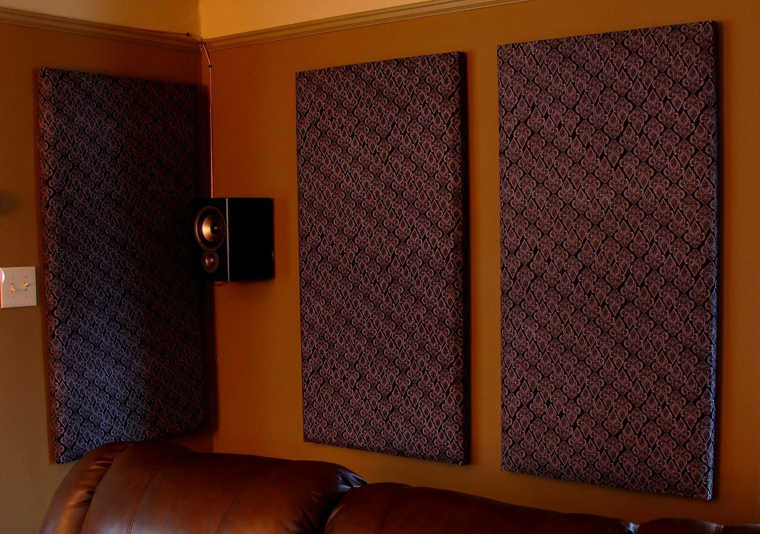 Cheap Easy Attractive Diy Wall Panel Sound Absorbers Acoustic