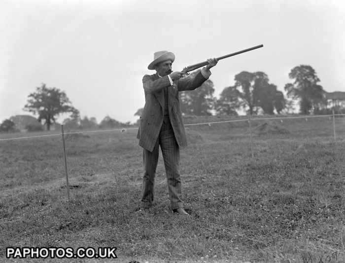 clay pigeon shooting london olympic games 1908