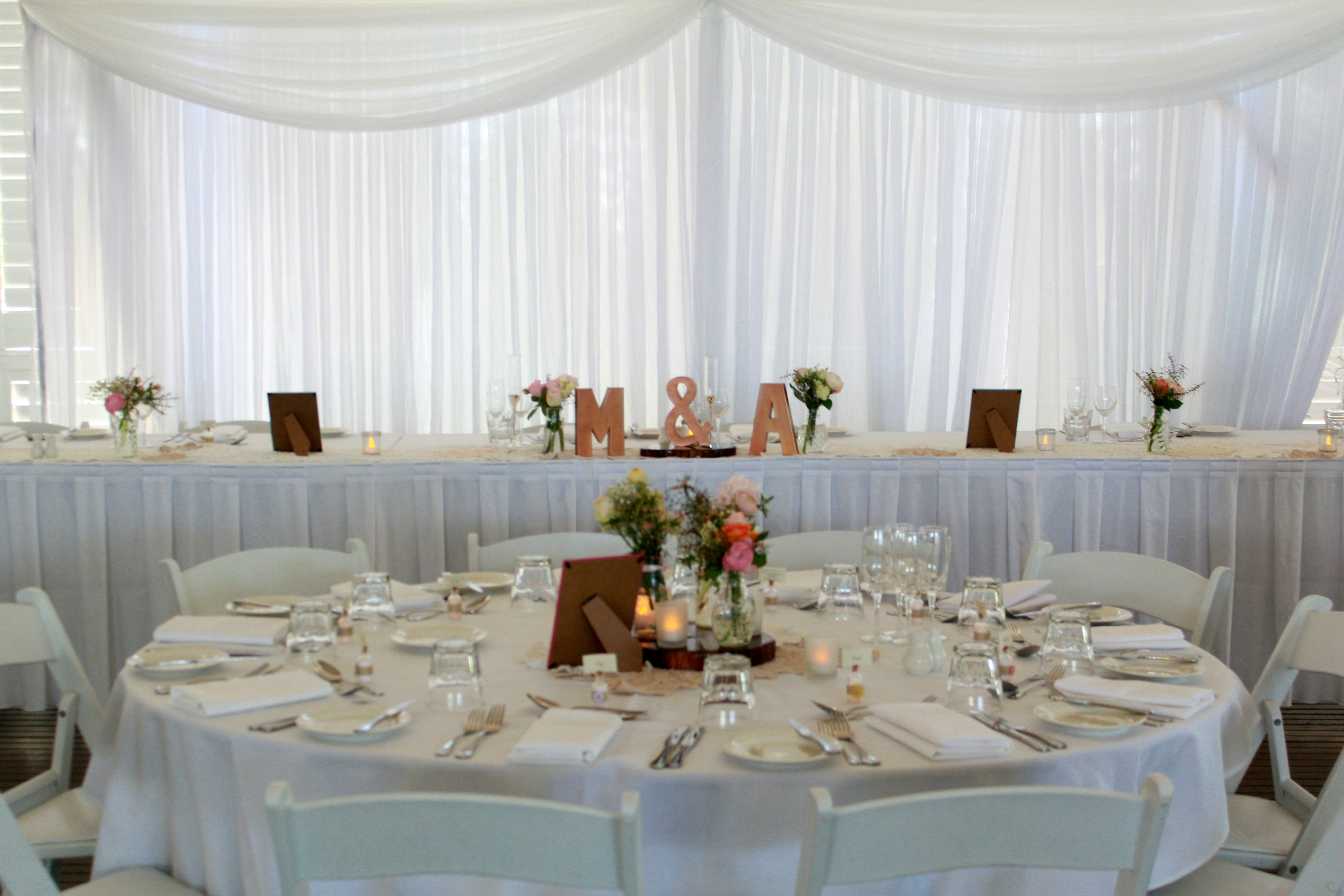 Dorable wedding reception venues townsville image the wedding mercure townsville plantation deck wedding reception white junglespirit Image collections