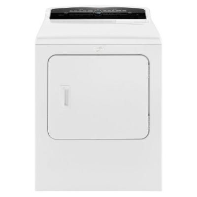 Whirlpool Cabrio 7 0 Cu Ft Gas Dryer With Steam In White Wgd7300dw The Home Depot Electric Dryers Whirlpool Washer And Dryer Gas Dryer