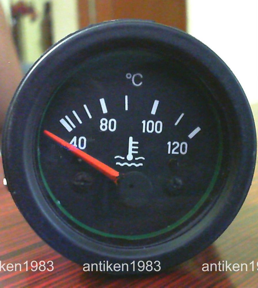 52mm Water Temperature Gauge Electrical Type 40-120 º C Size